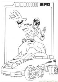 100 ideas power rangers spd coloring pages games