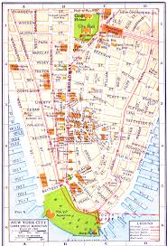 New York Map Of Attractions large printable tourist attractions map of manhattan new york in