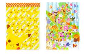 anime wrapping paper characters file folder japan anime stationery kawaii