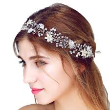 bridal hair accessories faybox bridal vintage pearl hairbands wedding