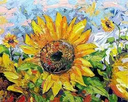 sunflowers for sale maxim grunin drawing painting sunflowers painting on sale www