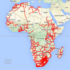 Map Of Egypt In Africa by Update On Online Learning In Africa Tony Bates
