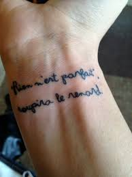 quote tattoo tumblr blogs contrariwise literary tattoos