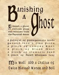 zaubersprüche charmed banishing a ghost http witchesofthecraft 2016 01 22