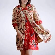 desain baju batik untuk acara resmi 36 koleksi baju batik wanita modern terbaru 2018 model baju