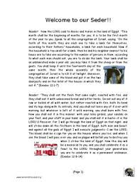 messianic seder haggadah messianic haggadah by servant of messiah ministry issuu