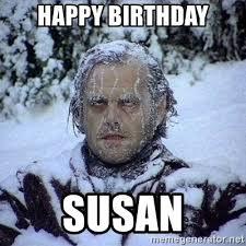 Happy Birthday Meme Generator - happy birthday susan frozen jack meme generator memeshappy com