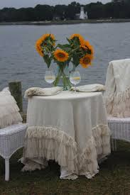square tablecloth on round table discontinued couture dreams chichi ivory square linen tablecloth