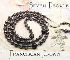 franciscan crown rosary faithful dove light of