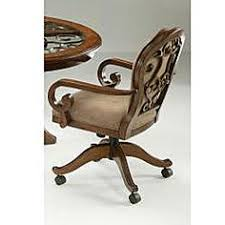 CR Joseph Swivel Tilt Adjustable Height Caster Dining Chair - Caster dining room chairs