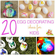kids easter eggs 20 easter egg decorating ideas for kids in the madhouse