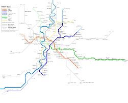 Metro North Train Map by Urbanrail Net U003e Europe U003e Italy U003e Metropolitana Di Roma Rome Metro