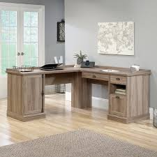 Desk L Shaped Sauder Barrister L Shaped Desk Walmart