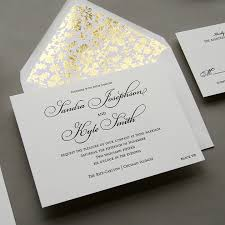 wedding invitations chicago regal letterpress wedding invitation