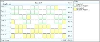 shift pattern generator online 10 hour shift schedule templates this free template shows a weekly