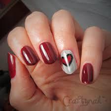 valentines day nail art heart nail art love nail art heart nails