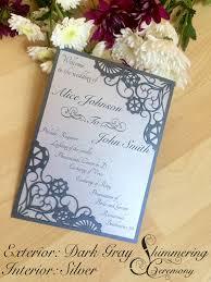 laser cut wedding programs steunk laser cut wedding program industrial cut gears wedding