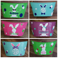 personalized easter buckets personalized easter baskets pertaining to inspire primedfw