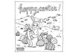happy easter free coloring page make awesome art