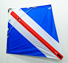 Blue White And Red Flags Blue White And Red Combo Kite U2013 Peter Powell Stunter Kites Shop