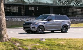 wheels land rover 2018 2017 land rover range rover interior review car and driver
