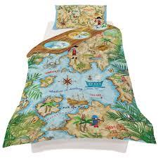 Teal Single Duvet Cover Arthouse Pirates Ahoy Single Duvet Set Quilt Cover Bedding Caribbean