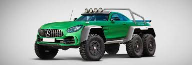 mercedes 6x6 mercedes amg gt r 6x6 rendering reveals hulk of the green hell