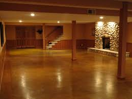 How To Stain A Concrete Basement Floor by Staining Concrete Floor Affordable Diy Hacks For Home Improvement