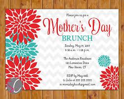 s day brunch invitation s day brunch invite celebration luncheon invitation