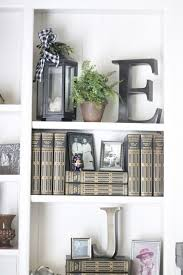 Styling Bookcases Well Styled Bookcases U0026 Charming Fall Home Tour