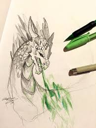 27 dragon sketch by lucky978 on deviantart
