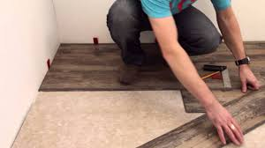 Vinyl Floor Basement Livloc Click Vinyl Flooring Installation Video Mp4 Flooring