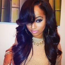pictures of black ombre body wave curls bob hairstyles 8a modern girl hair brazilian weave with closure brazilian body