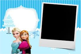 frozen ticket invitations convite com foto frozen azul png 1168 780 cestitka pinterest