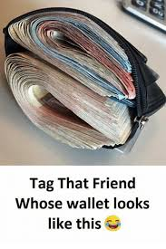 Meme Wallet - tag that friend whose wallet looks like this meme on me me