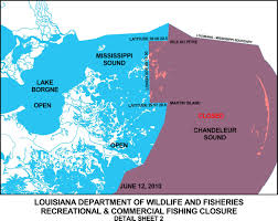 Louisiana On Map by Louisiana Department Of Wildlife And Fisheries Amends Fishing