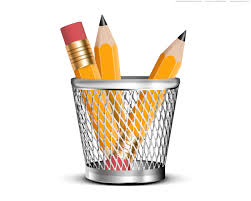 file holder for desk pencils in a pencil holder psd icon psdgraphics