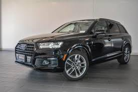 audi q7 cargo capacity 2018 audi q7 orca black metallic suv for sale wa1vaaf74jd003422