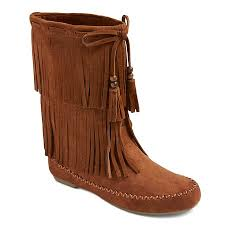 womens cowboy boots target s fringe moccasin boots mossimo supply co
