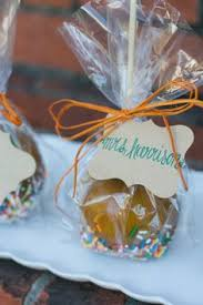 caramel apple party favors caramel apple wedding favors will wrap mine a different