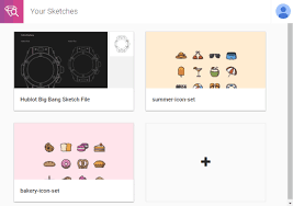 online sketch file viewer with file version and outline support