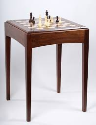 usa made walnut and maple player u0027s chess table and board chess house