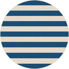 Stripe Indoor Outdoor Rug 8 Navy Blue Stripe Indoor Outdoor Rug Garden City Rc