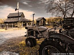 Tractor Barn Allis Chalmers Tractor With Old Barn Elaine H Biber