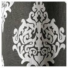 Black And White Damask Curtain Exclusive Home Damask Curtain Panels Set Of 2 Panels Target