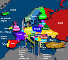 map of europe with country names and capitals blank map of europe countries and capitals
