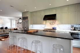 a small modern kitchen with white drawers and green doors picture picture