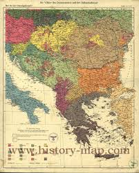 1939 Europe Map by Map Of The Balkans 1940 Map Europe Balkans Europe Maps