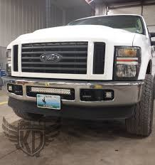 f250 led light bar bumper brackets for 20 led light bars 08 10 ford superduty f250 f350
