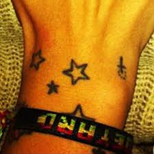 hanna beth merjos cross star wrist tattoo steal her style